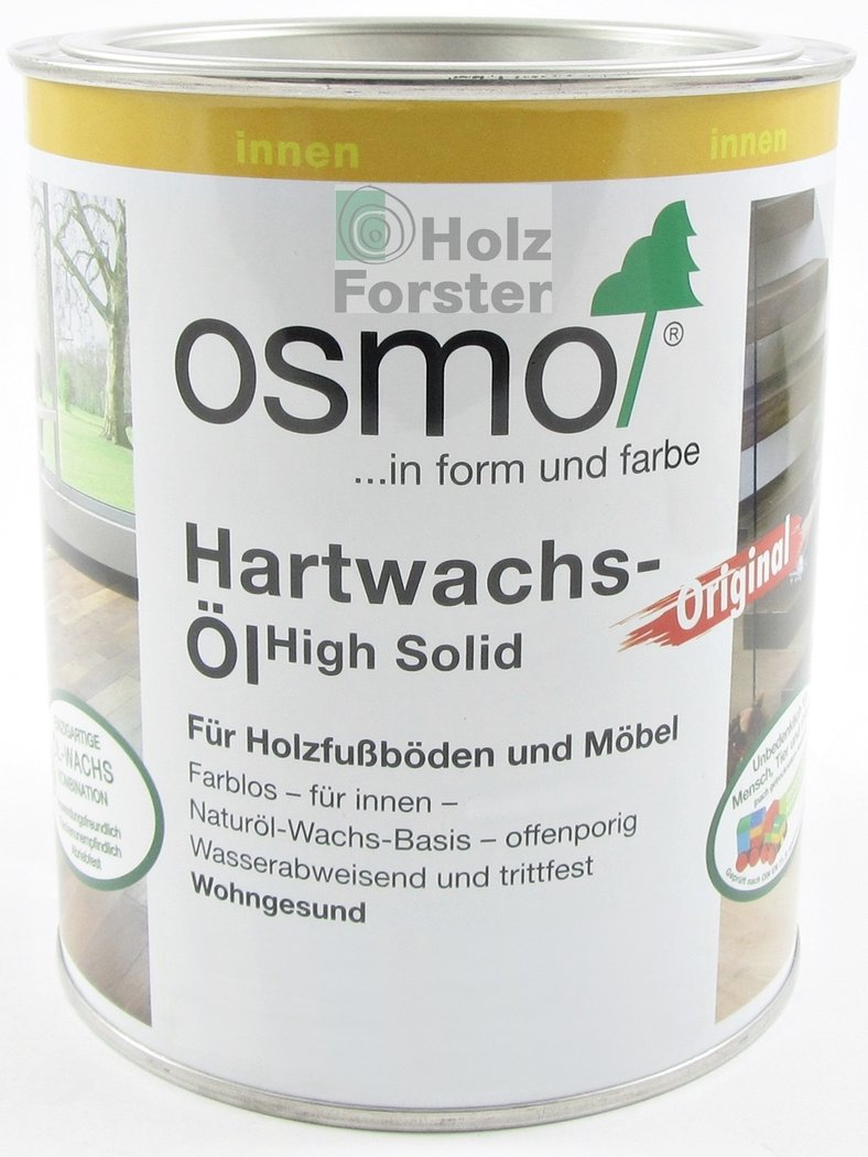 osmo hartwachs l original 3032 farblos seidenmatt. Black Bedroom Furniture Sets. Home Design Ideas