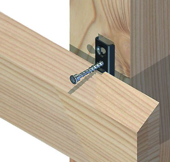 eurotec fassadenclip f130 68 80mm. Black Bedroom Furniture Sets. Home Design Ideas